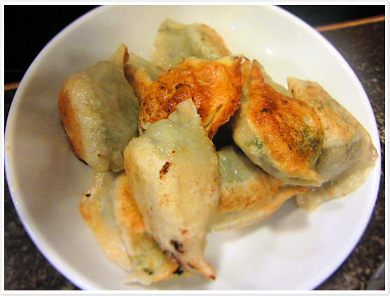 Dumpling Yuan - Hong Kong - Fried Vegetable Dumplings