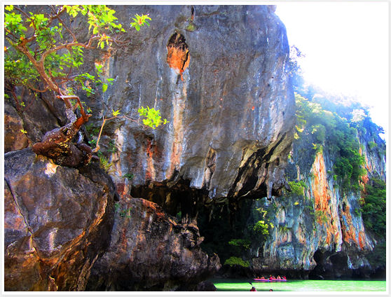 Phuket Thailand -  Phang Nga Bay Piranha Rock