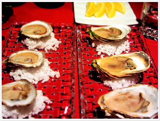 Le Filet Montreal - Oysters