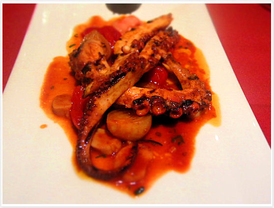 Le Filet Montreal - Octopus
