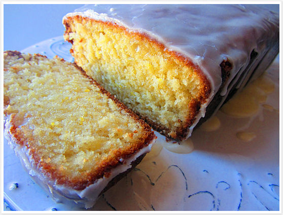 Lemon-glazed pound cake 6