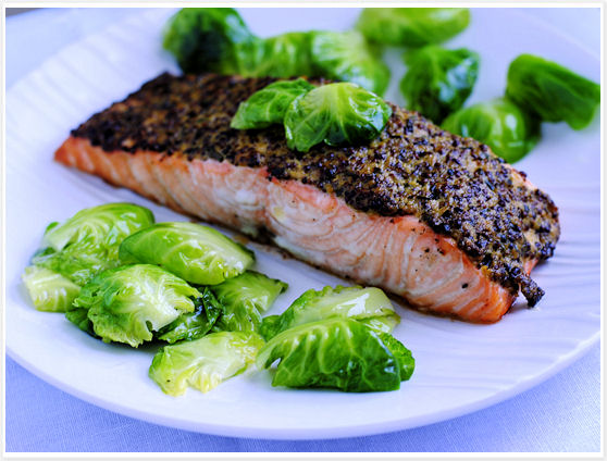 Mustard Crusted Salmon 5