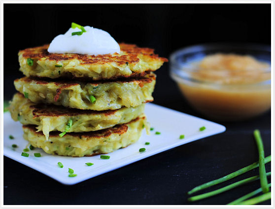 Potato-Chive Pancakes