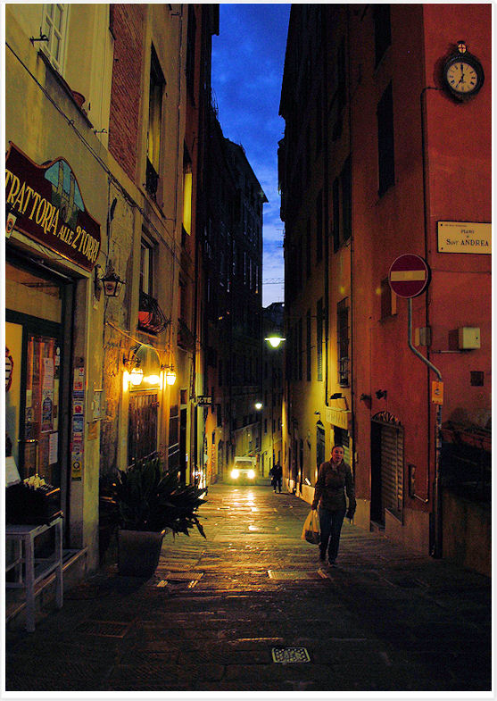 Alley in Genoa