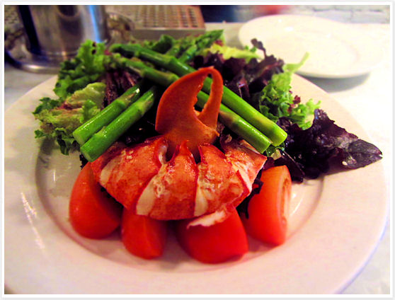 Ed's Lobster Bar - Lobster salad