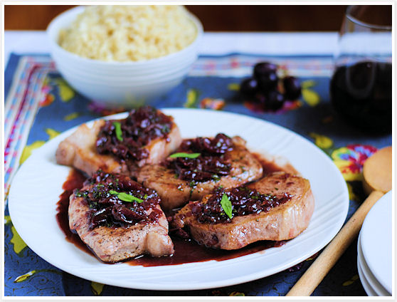 Pork with Grapes and Tarragon 10