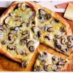 Truffled Fontina and Mushroom Pizza 7