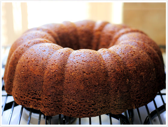 Burnt Sugar Bundt Cake