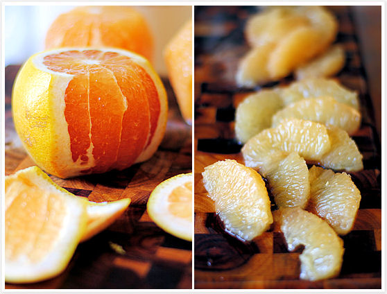 Chaud-Froid of Grapefruit