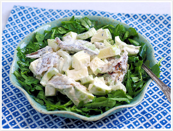 Smoked-mackerel salad 5