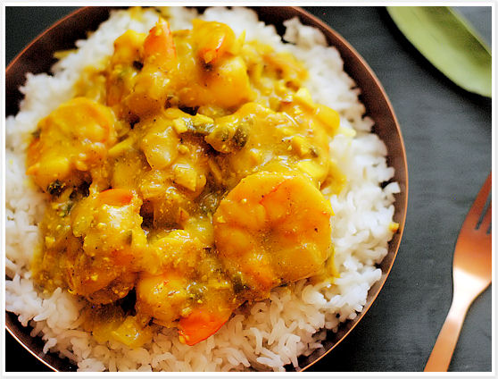 Prawn Curry 7