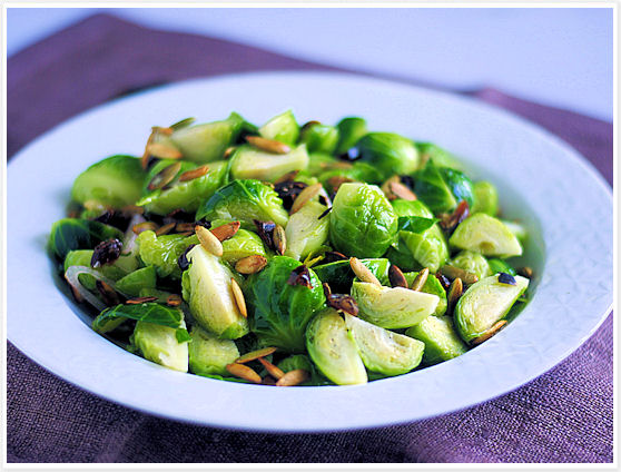 Brussels Sprout Salad 5