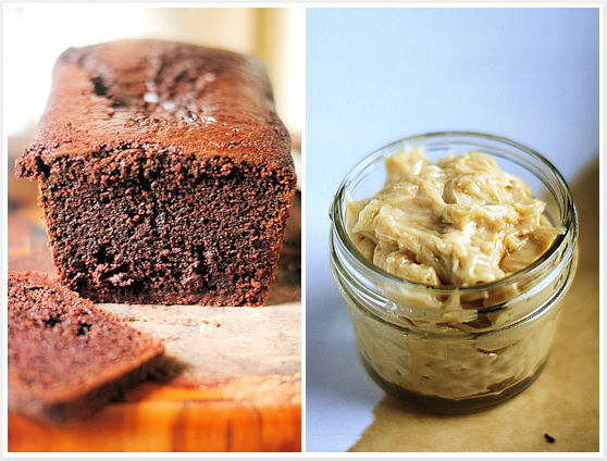 Double-Chocolate Loaf With Peanut Butter Cream Cheese ...