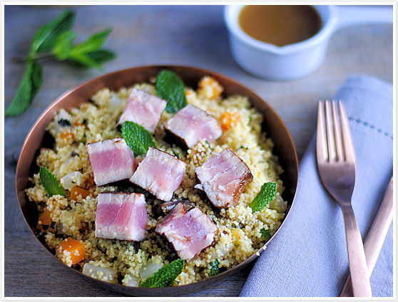 Tuna with couscous 8