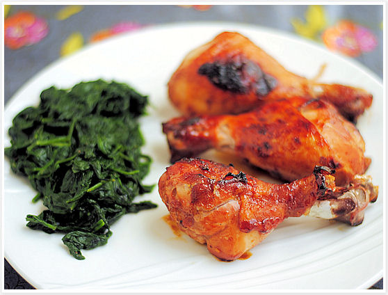 Apricot-Glazed Chicken Drumsticks 5