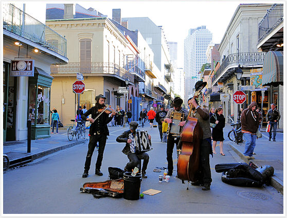 Jazz in French Quarter - New Orleans