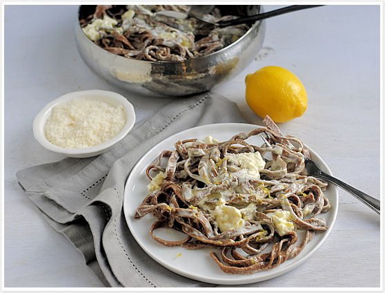 Chocolate Fettuccine
