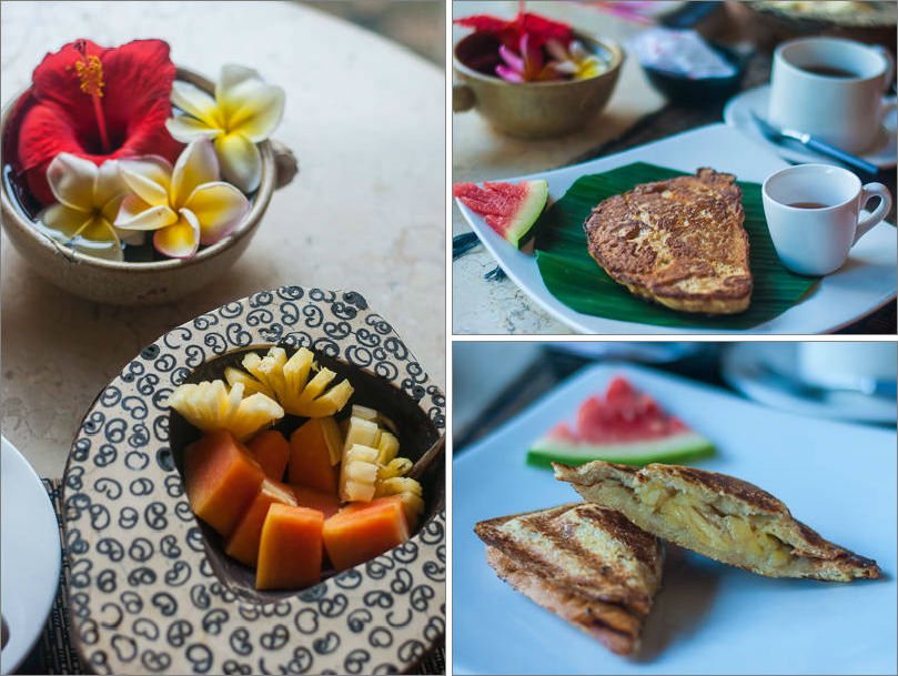 Breakfast at Puri Bayu - Ubud