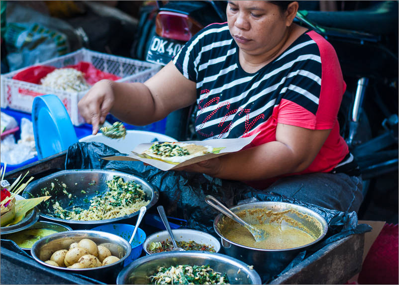 Ubud Market - Breakfast 2