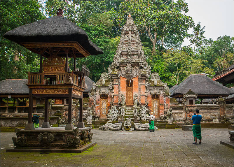 Ubud - Monkey Forest - Monkey Temple