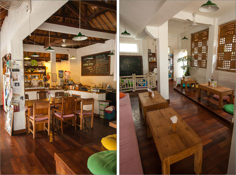 Warung Sopa in Ubud - Inside