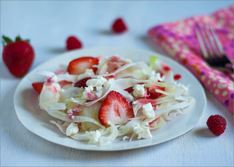 Fennel and Strawberry Salad