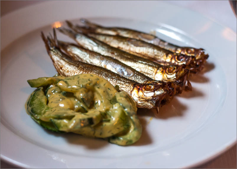 St. John in London - Smoked sprats