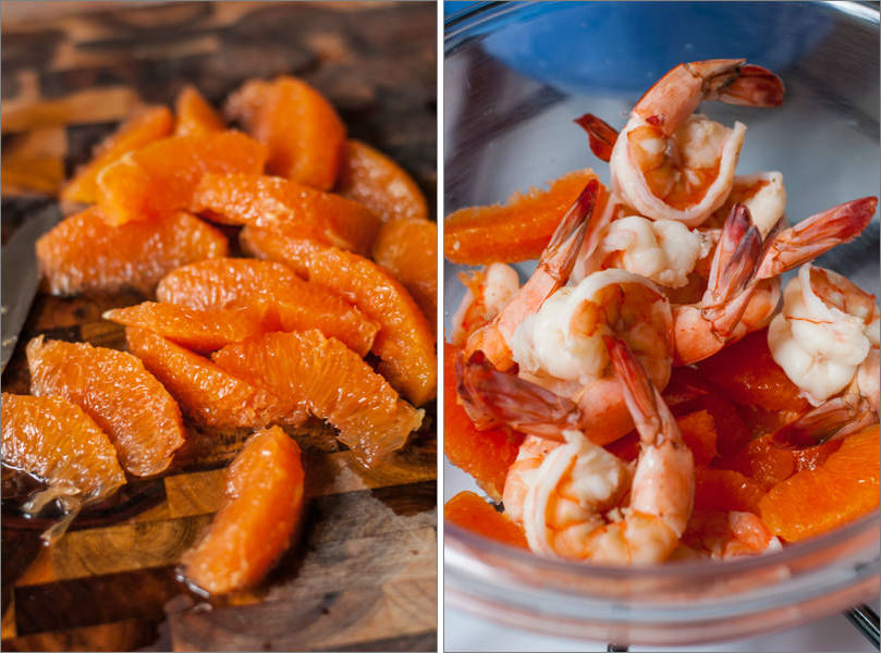 Shrimps and Oranges