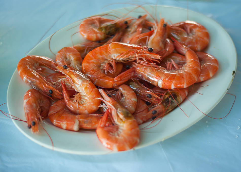 Cheung Chau - Garlic Shrimps