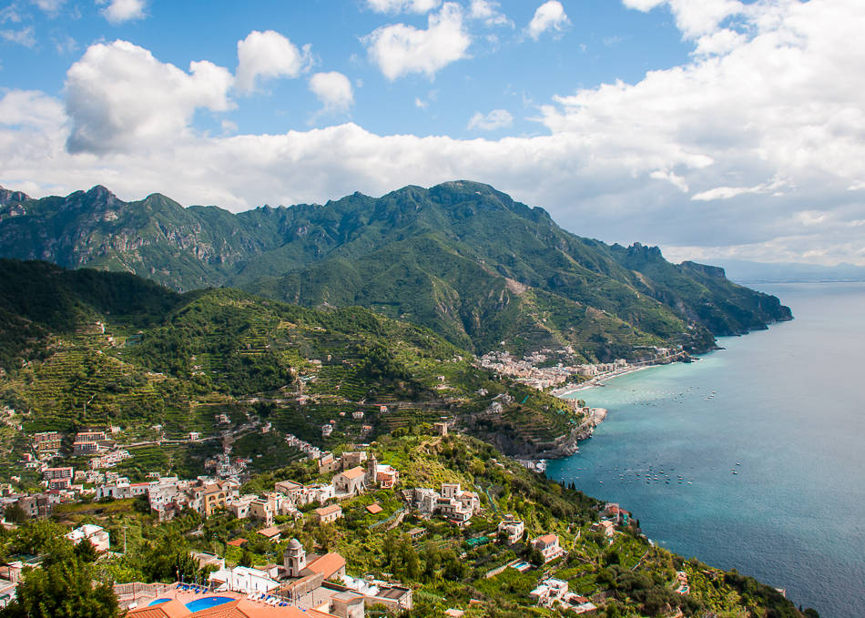 Ravello - Villa Rufolo views