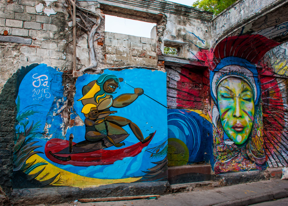 Image result for cartagena street art