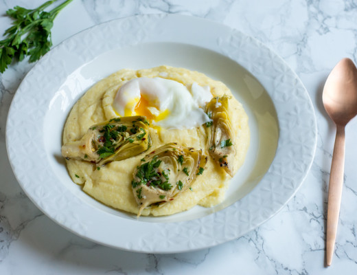 Polenta with Artichokes