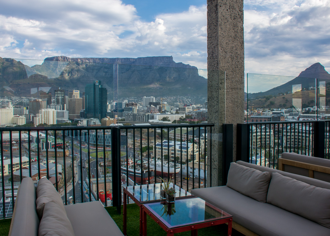 Cape Town - The Silo Hotel Rooftop