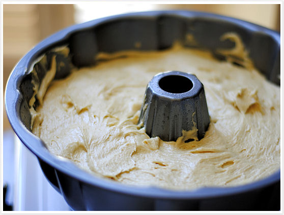 Burnt Sugar Bundt Cake with Caramel Rum Frosting