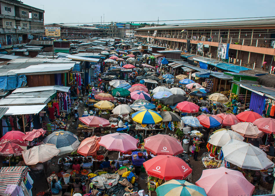 Kumasi - the largest market in West Africa and a winning