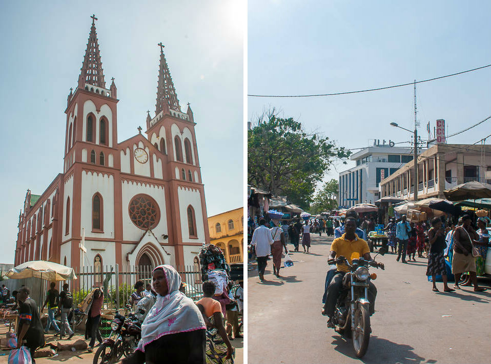 Voodoo and Markets in Togo's capital