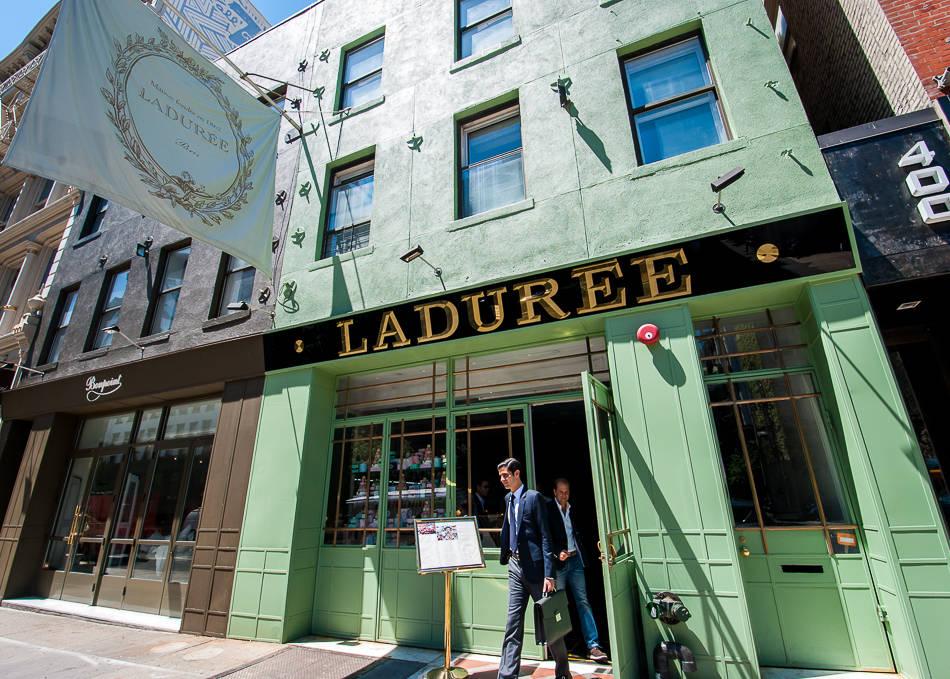 Laduree tea salon nyc celebrity