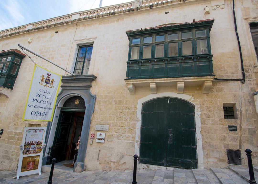 Valletta the grand tiny capital of malta for Casa piccola
